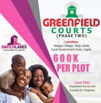Land with Registered Survey, Asegun, Ibeju Lekki, Lagos, Residential Land for Sale
