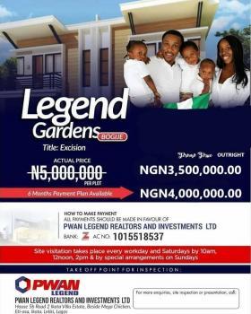 Legend Gardens.excision .in Bogije Ajah Dry Land, Bogije, Ibeju Lekki, Lagos, Residential Land for Sale