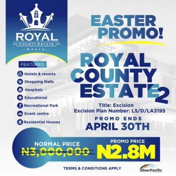 Royal County Estate Phase 2, After Dangote Refinery, Akodo Ise, Ibeju Lekki, Lagos, Commercial Land for Sale