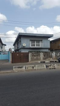 4 Flats of 3 Bedrooms, Directly on Ogunlana Drive and Close to Itire Junction, Ogunlana, Surulere, Lagos, Block of Flats for Sale