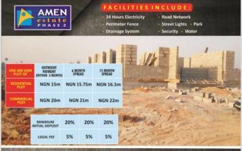 Residential Plots., Amen Estate, Eleko Beach Road, Opposite Ph 1, Eleko, Ibeju Lekki, Lagos, Residential Land for Sale