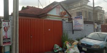 a Detached Bungalow Alone in a Compound, Alagomeji, Yaba, Lagos, Detached Bungalow for Rent
