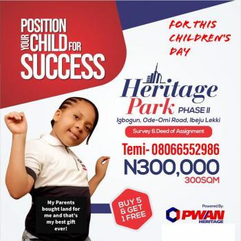Heritage Park Phase 2, Ode-omi Road, Asegun, Ibeju Lekki, Lagos, Mixed-use Land for Sale