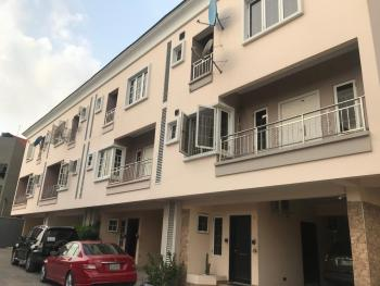 4 Bedroom Terrace + 1 Room Bq, By Hebert Macaulay Way (estate Behind Yabatech College of Technology), Yaba, Lagos, Terraced Duplex for Sale