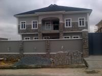 5 Bedroom Detached Duplex(all En-suite) With Fitted Kitchen, Ante Room, Family Lounge, 2 Bedroom Flat Attached To The Basement And A Room Boys Quarters, Gra, Magodo, Lagos, 5 Bedroom, 6 Toilets, 5 Baths House For Sale