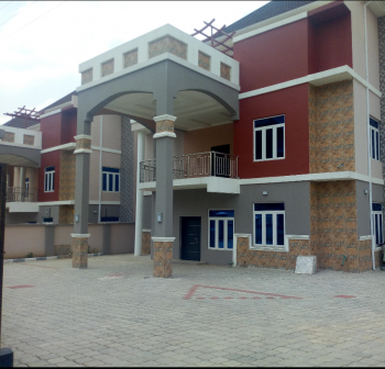 Guzape: Brand New and Luxury Finished 5units of 5bedroom Detached Duplex with a Room Bq, Individual Fence with Gate. Spacious Room, Guzape District, Abuja, Detached Duplex for Sale