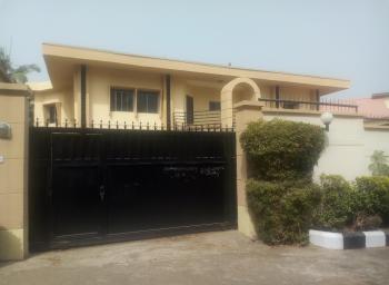 Newly Renovated Ambassadorial Mansion Comprises of Spacious 6bedrooms, 3 Living Rooms, 3 Rooms Bq, Maitama District, Abuja, Detached Duplex for Sale