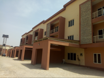Luxury Brand New 4units of Spacious 4bedroom Terrace Duplex with Attached Bq, Jabi, Abuja, Terraced Duplex for Rent