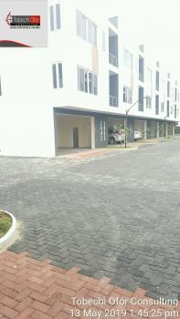 Serviced 3 Bedroom Terraced House, Off Circle Mall Road, Jakande, Lekki, Lagos, Terraced Duplex for Sale