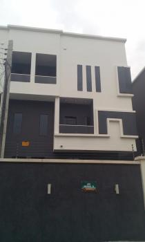 Newly Built 4 Bedroom Duplex, Canal West Estate, Osapa, Lekki, Lagos, Semi-detached Duplex for Rent