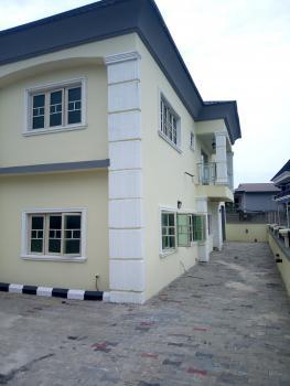 Brand New Spacious 4 Bedroom Duplex with Bq Within a Very Secured Estate, Before Sangotedo Shoprite, Sangotedo, Ajah, Lagos, Semi-detached Duplex for Sale