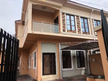 Renovated 4 Bedroom with a Room Bq, Chevy View Estate, Lekki, Lagos, Semi-detached Duplex for Rent