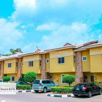 Luxurious Fully Serviced 3 Bedroom Terrace Duplex with a Bq, Pool, Gym, Gardens, Constant Power Supply, Uniform Security Guards, Utako, Abuja, House for Rent