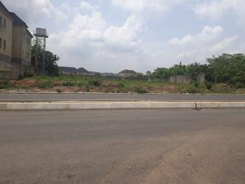 Best Deal: a Superbly Located & Exceptionally Placed Fenced Residential Landuse, Close to Silverbird Building By Naval Senior Quarters, Jahi, Abuja, Residential Land for Sale