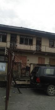 a Corner Piece Storey Building, Directly on Herbart Macaulay Way, Alagomeji, Yaba, Lagos, Detached Duplex for Sale