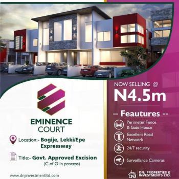 Eminence Court Dry Land, Eminence Court, Bogije, Ibeju Lekki, Lagos, Residential Land for Sale