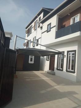 Distress 4 Bedroom Semi Detached House with a Bq, Ikota Villa Estate, Lekki, Lagos, Semi-detached Duplex for Sale