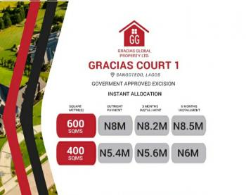 Gracias Courts 1, Behind The Biggest Mall (shoprite) Off Monastery Road, Sangotedo, Ajah, Lagos, Mixed-use Land for Sale