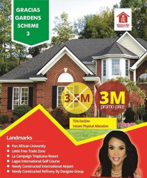 Gracias Court Scheme 3, 16 Minutes Away From The Multi Billion Dollar Dangote Refinery and 7 Minutes to La Campagne Tropicana Resort, Akodo Ise, Ibeju Lekki, Lagos, Mixed-use Land for Sale