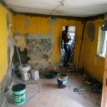 Newly Renovated Room Self Contained, with 1 Toilet and Bath, Akoka, Yaba, Lagos, Self Contained (single Rooms) for Rent