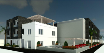 4 Bedroom Townhouse, Soho Atlantic Court, Atlantic Nominees Estate, By Abraham Adesanya Estate, Abraham Adesanya Estate, Ajah, Lagos, Flat for Sale