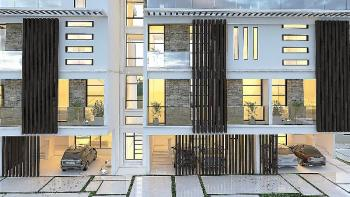 Luxury 4 Bedroom Terrace Duplex, Spar Road, Lekki, Lagos, Terraced Duplex for Sale