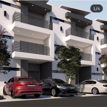 Fully Finished Exquisite 4 Bedroom Terrace Duplex Plus Servants Room, Opposite Woodfield Estate, Beside Mallam Shehu Plaza, Jabi, Abuja, Terraced Duplex for Sale
