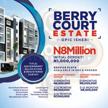 Berry Court Estate, Opic, Isheri North, Lagos, Residential Land for Sale