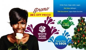 White Rose Garden Ramadan Promo, Oribanwa, Ibeju Lekki, Lagos, Residential Land for Sale