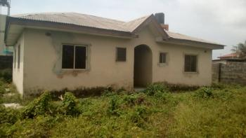 Two Bedroom Flat Sitting on Two Plots of Land, Eputu Major Road, Eputu, Ibeju Lekki, Lagos, Detached Bungalow for Sale