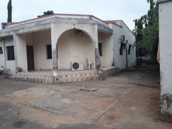 Old Demolish-able 4 Bedrooms Bungalow with Commercial Advantage, Off Ademola Adetokunbo Crescent, Wuse 2, Abuja, Detached Bungalow for Sale