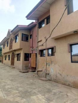 4 Nos 3 Bedroom Flat , Fence with Two Gate  on One Full Plot, Abule Egba, Agege, Lagos, Block of Flats for Sale