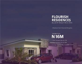 Luxury 3 Bedroom Semi Detached Bungalow with Class, Eluju, Ibeju Lekki, Lagos, Semi-detached Bungalow for Sale