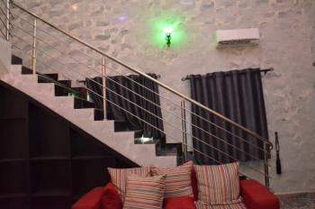2 Bedroom Maisonette, 26, Busayo Adebayo Close, Anibaloye Crescent, Anthony, Maryland, Lagos, Semi-detached Duplex Short Let
