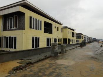 Newly Built 4 Bedroom Terrace with Bq, 5 Minutes Drive From Vgc, Behind Tollywood School, Sangotedo, Ajah, Lagos, Terraced Duplex for Sale