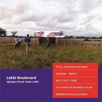 Lekki Boulevard, Ibeju Lekki, Akodo Ise, Ibeju Lekki, Lagos, Residential Land for Sale