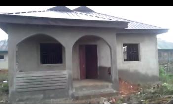 a 2 Bedroom Bungalow on a Full Plot of Land, Iyana Iyesi, Off Idiroko Road, Ado-odo/ota, Ogun, Detached Bungalow for Sale