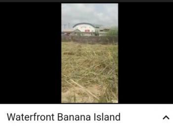Waterfront Land, Banana Island, Ikoyi, Lagos, Residential Land for Sale
