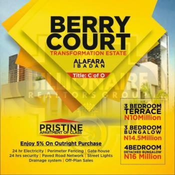 Berry Court Transformation Estate, Alafara, Ibadan Northeast, Jericho, Ibadan, Oyo, Detached Bungalow for Sale