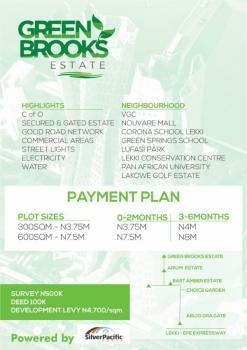 Green Brooks Estate, Lekki, Lagos, Land for Sale