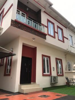 4 Bedroom Semi Detached Duplex with a Bq, Chevy View Estate, Lekki, Lagos, Semi-detached Duplex for Rent