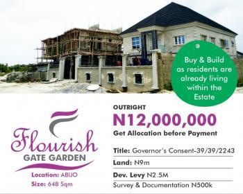 Flourish Gate Garden, Abijo, Alatise, Ibeju Lekki, Lagos, Residential Land for Sale