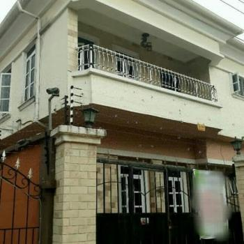 Beautiful and Neatly Tiled 4 Bedroom Fully Detached Duplex with Maids Room, Agungi, Lekki, Lagos, Detached Duplex for Rent