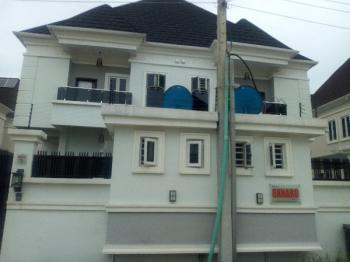 Elegant 4 Bedroom Semi Detached Duplex with Bq, Chevron Drive, Chevy View Estate, Lekki, Lagos, Semi-detached Duplex for Rent