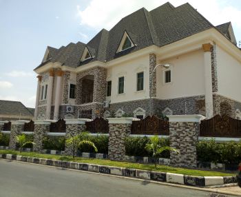 Brand New Fully Furnished Ambassadorial Royal Mansion Comprises of Spacious 8 Bedrooms, Maitama District, Abuja, Detached Duplex for Sale