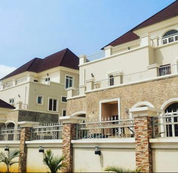 Brand New Furnished Ambassadorial Royal Mansion Comprises of Spacious 2 Units 5 Bedrooms Twin Duplex, 2 Bedrooms Boys Quarters, Etc, Maitama District, Abuja, Semi-detached Duplex for Sale