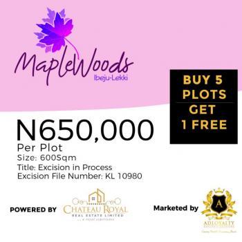 Amazing Promo Maplewood Estate, Folu Ibeju-lekki Lagos, Lekki Free Trade Zone, Lekki, Lagos, Mixed-use Land for Sale