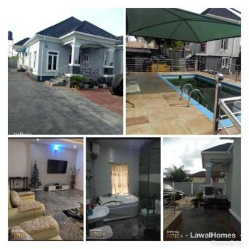5 Bedroom Lavishly & Fully Furnished Exec Bungalow + Bq with Swimming Pool, Mayfair Garden, After Ajah By The New Shoprite, Awoyaya, Ibeju Lekki, Lagos, Detached Bungalow for Sale