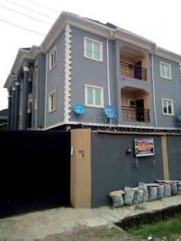 a Fairly Used Three Bedroom Apartment. Spacious, Neat and in a Secured Location., 123, Nude Street, Bucknor, Ejigbo, Lagos, Flat for Rent