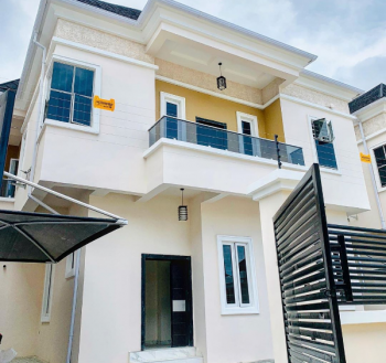 Fully Detached Duplex,  Newly Built 4 Bedroom with 1 Bqs  It Is Beautifully Built and Elegant, Chevron Drive, Chevy View Estate, Lekki, Lagos, Detached Duplex for Sale
